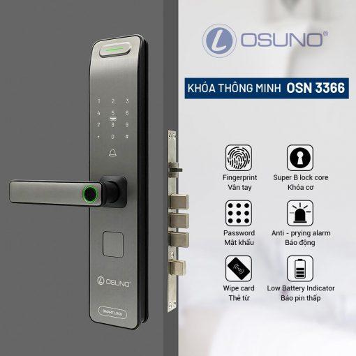 khóa cửa thông minh 3368