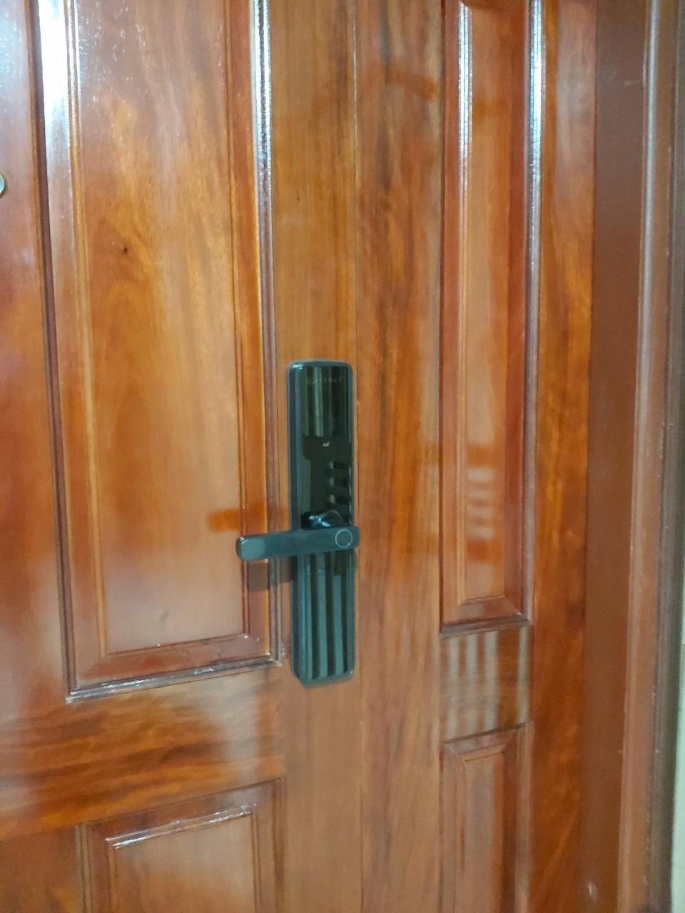 lắp đặt khóa vân tay osn 3302