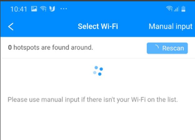 Tìm wifi khóa